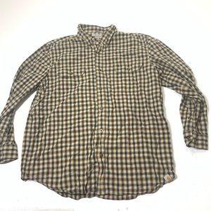 Mens Size XL Carhartt Long Sleeve Button Up Shirt